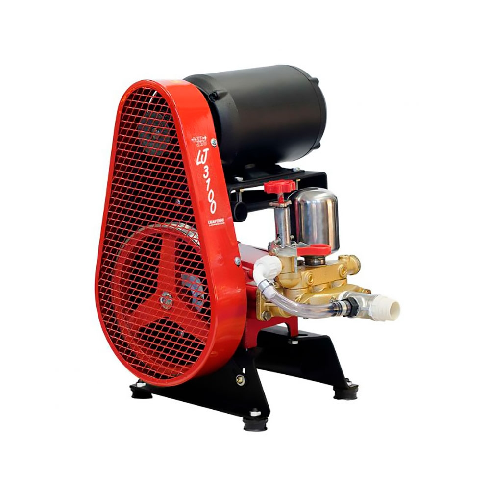 Máquina de Lavar Autos Móvel c/ Motor 3CV Mod. LJ 3100 - Chiaperini