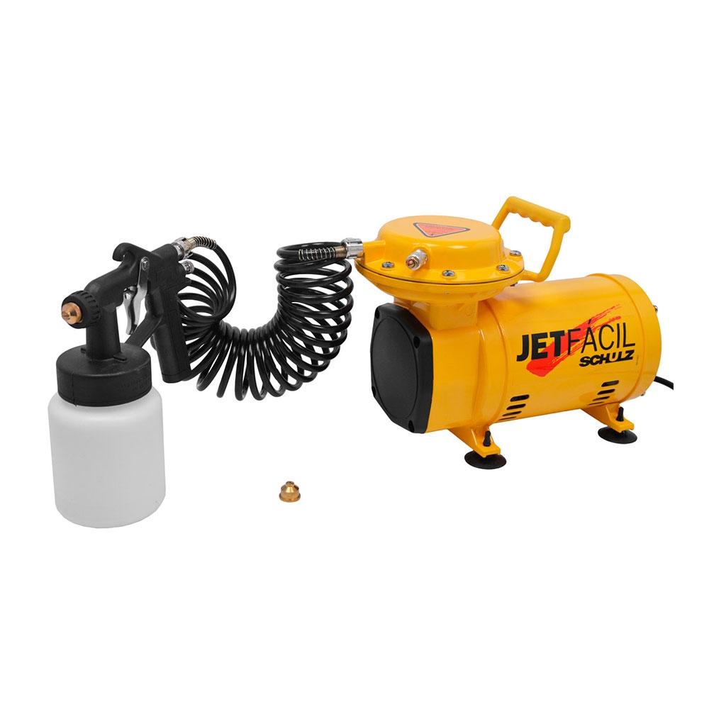 Motocompressor de Ar Direto 2.3PCM c/ Kit Pintura Mod. JET FACIL - Schulz