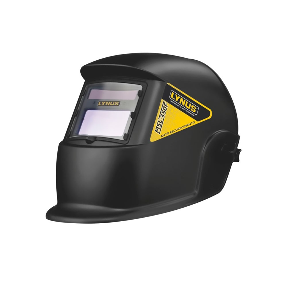 Mascara de Solda c/ Escurecimento Automático Mod. MSL 350F - Lynus
