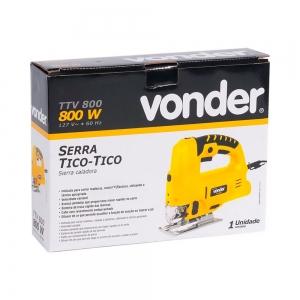 Serra Tico-Tico 800W Mod. TTV 800 - Vonder
