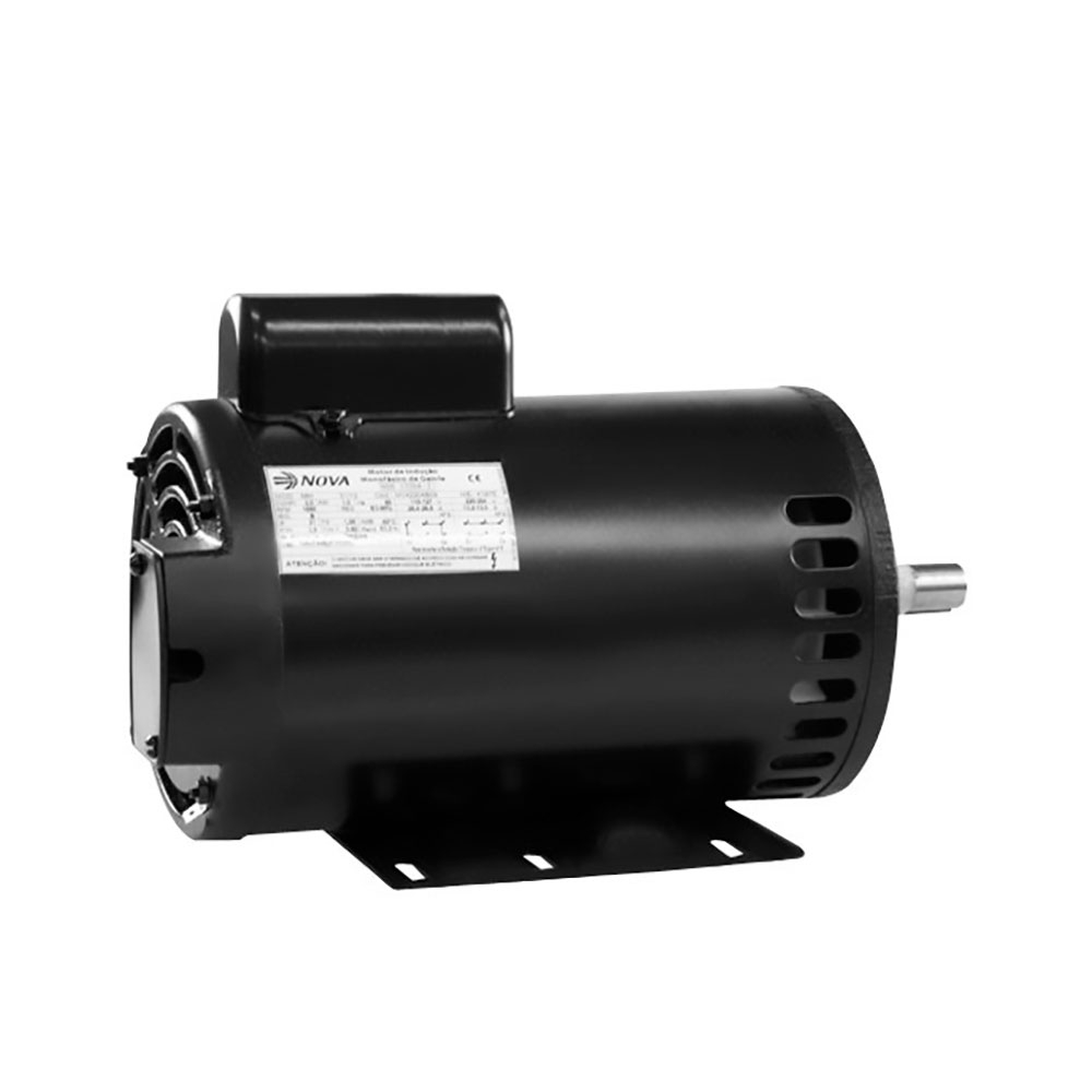 Motor Elétrico Monofásico Aberto 2CV 4Polos IP21  - Nova - (Ref: M142204B14)