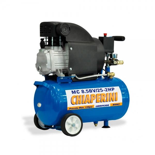 Motocompressor de Ar 8.5PCM 25L Mod. MC 8.5/25 - Chiaperini