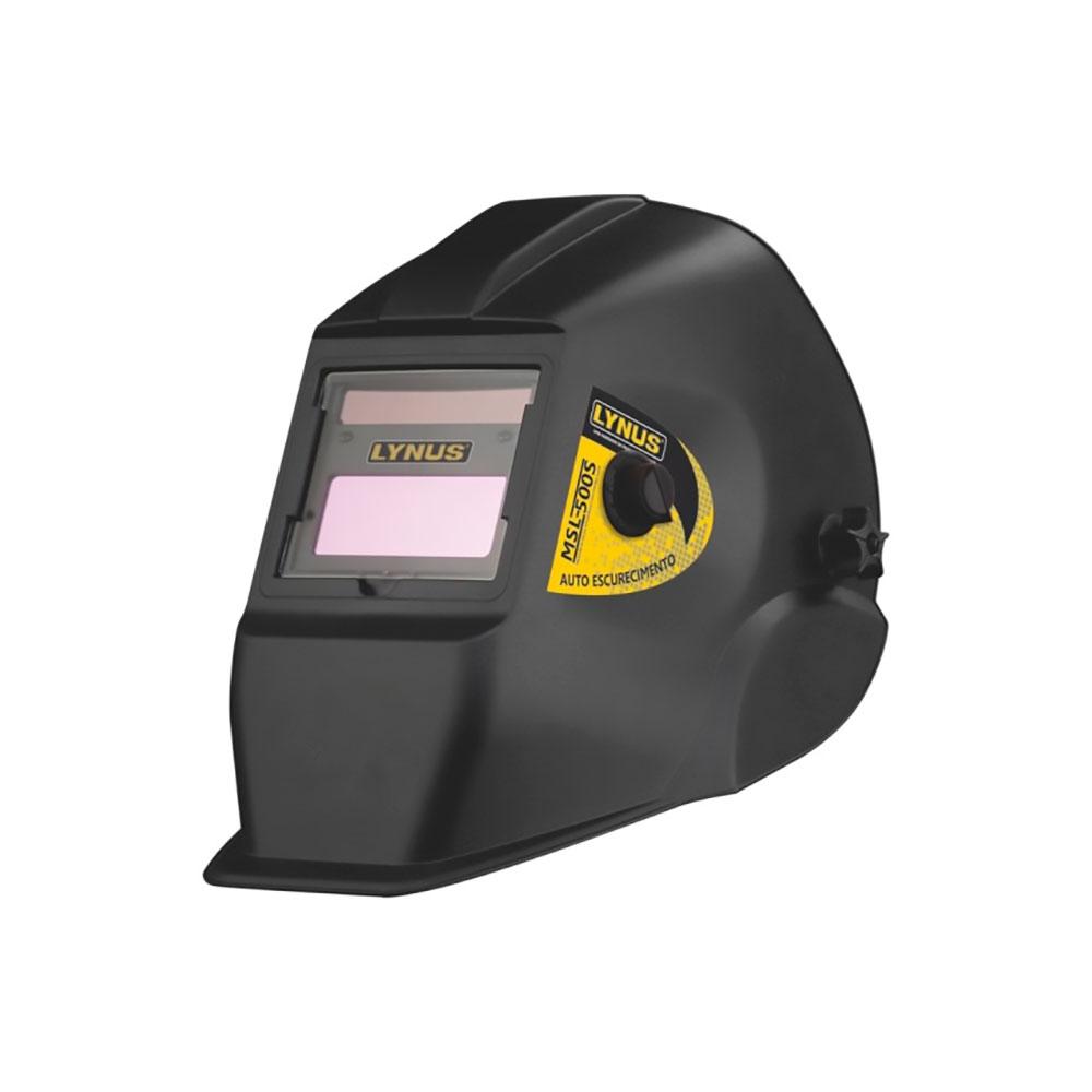 Mascara de Solda c/ Escurecimento Automático Mod. MSL 500S - Lynus